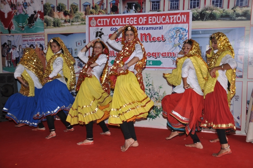 Cultural Program in City College of Education, Hissar