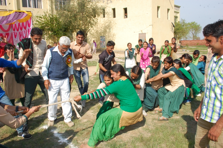 Sports Event in City College