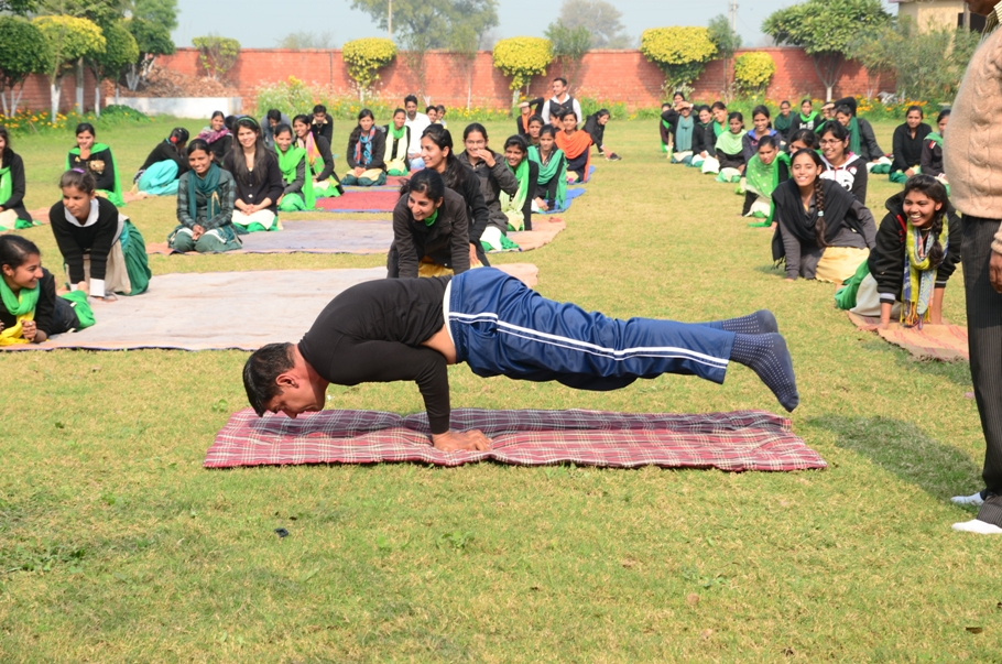 Yoga Instructor Sh. Anoop Singh