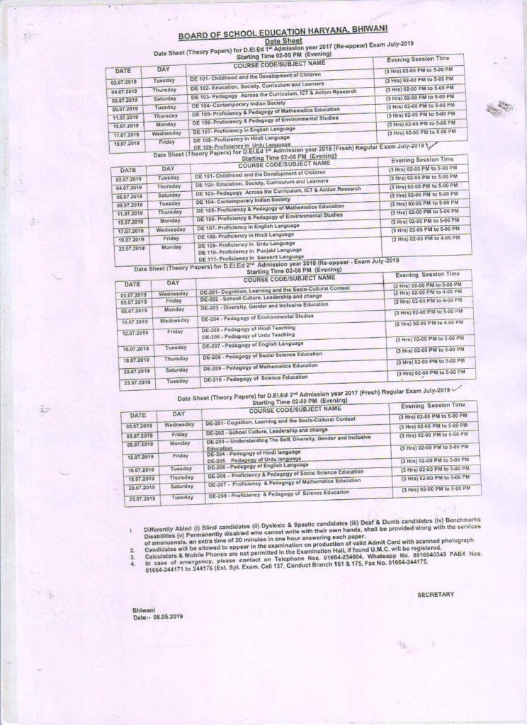deled-date-sheet